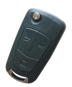 For Vauxhall Opel Vectra Zafira Signum Astra 3 button flip key case shell