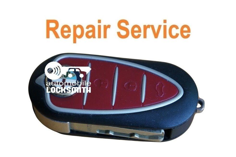 Repair Service For Alfa Romeo Mito Giulietta GTO 159 3 button remote flip key