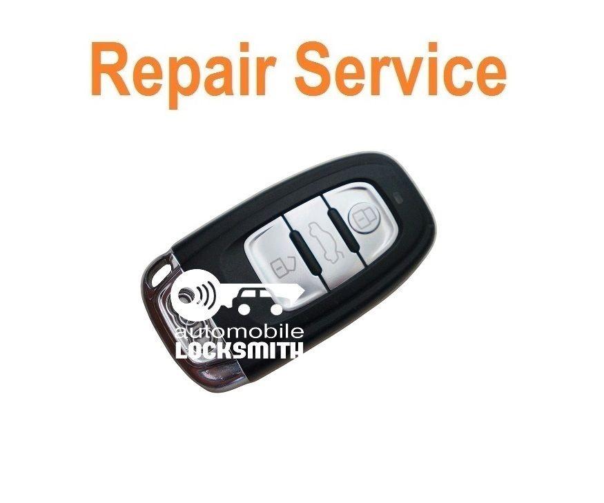 Pcb repair refurbishment service for Audi 3 button remote smart key fob