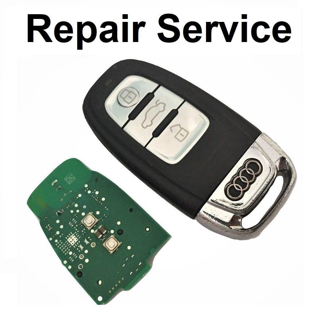 For AUDI A4 A5 A6 A7 A8 Q3 Q5 3 Button Smart Remote Key Repair Service