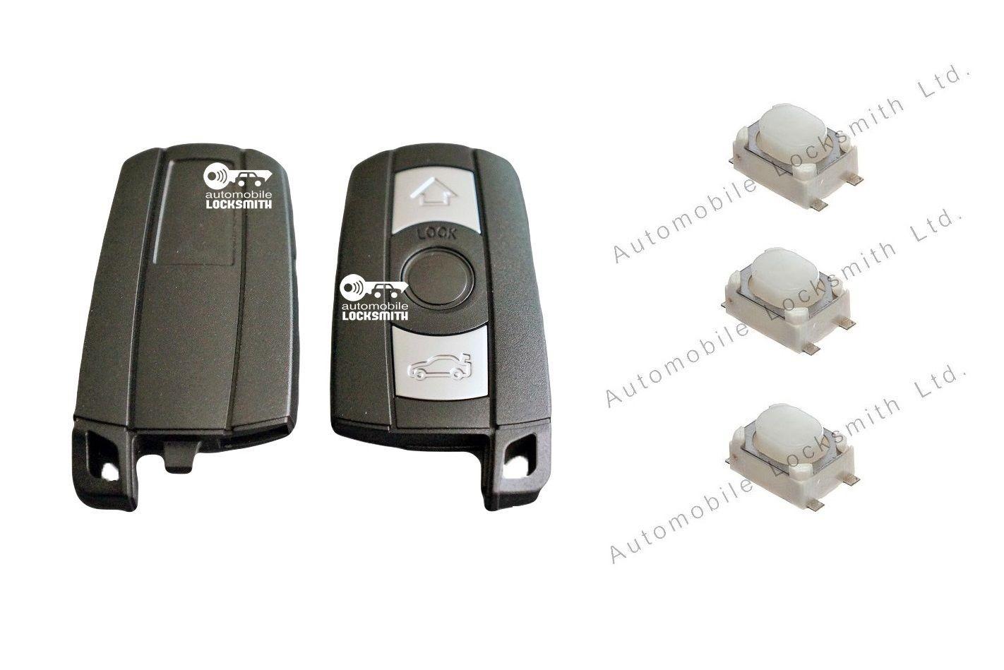 Repair Kit for BMW 1 3 5 6 7 Series E90 E92 E93 3 button remote smart key