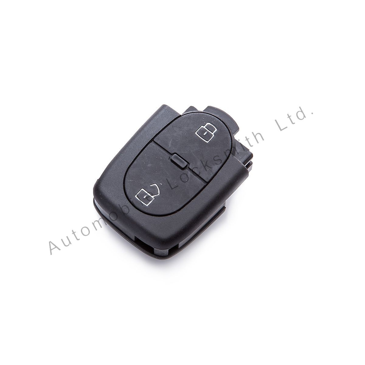 For Audi 2 button remote flip key case shell
