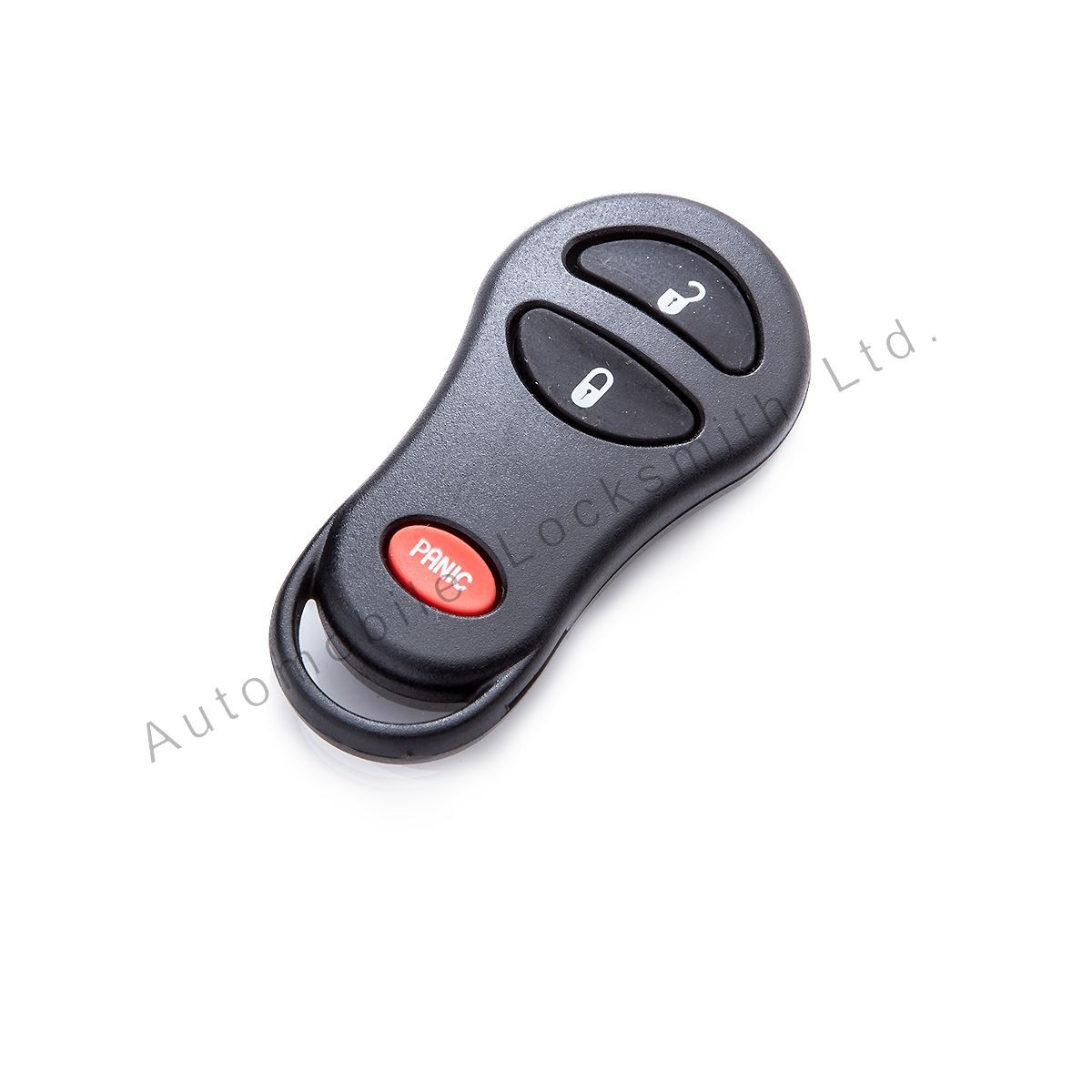 for Chrysler Jeep 3 button remote alarm key case shell