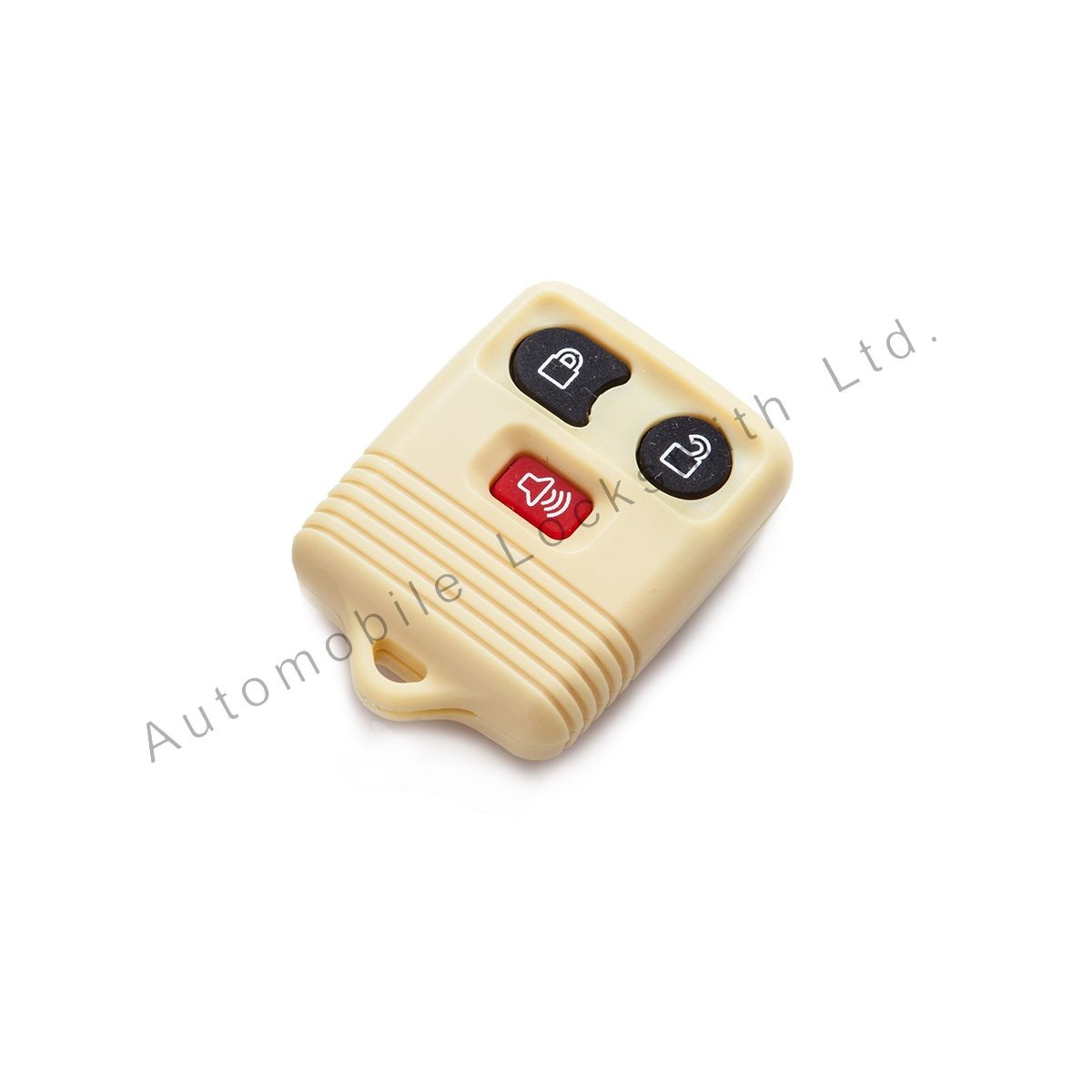 For Ford 3 button remote alarm key yellow case shell