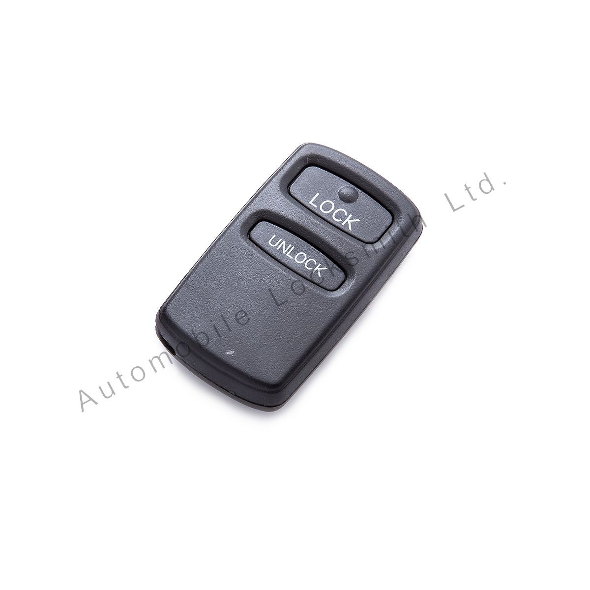 for Mitsubishi 2 button remote alarm key case shell with rubber pad