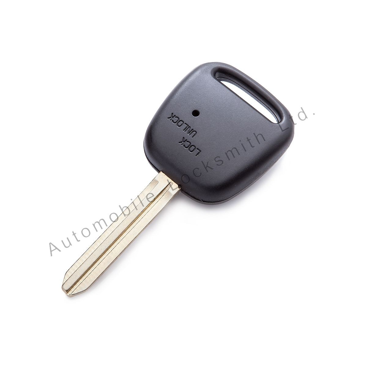 for Toyota 1 side button remote key case shell with Toy43 blade