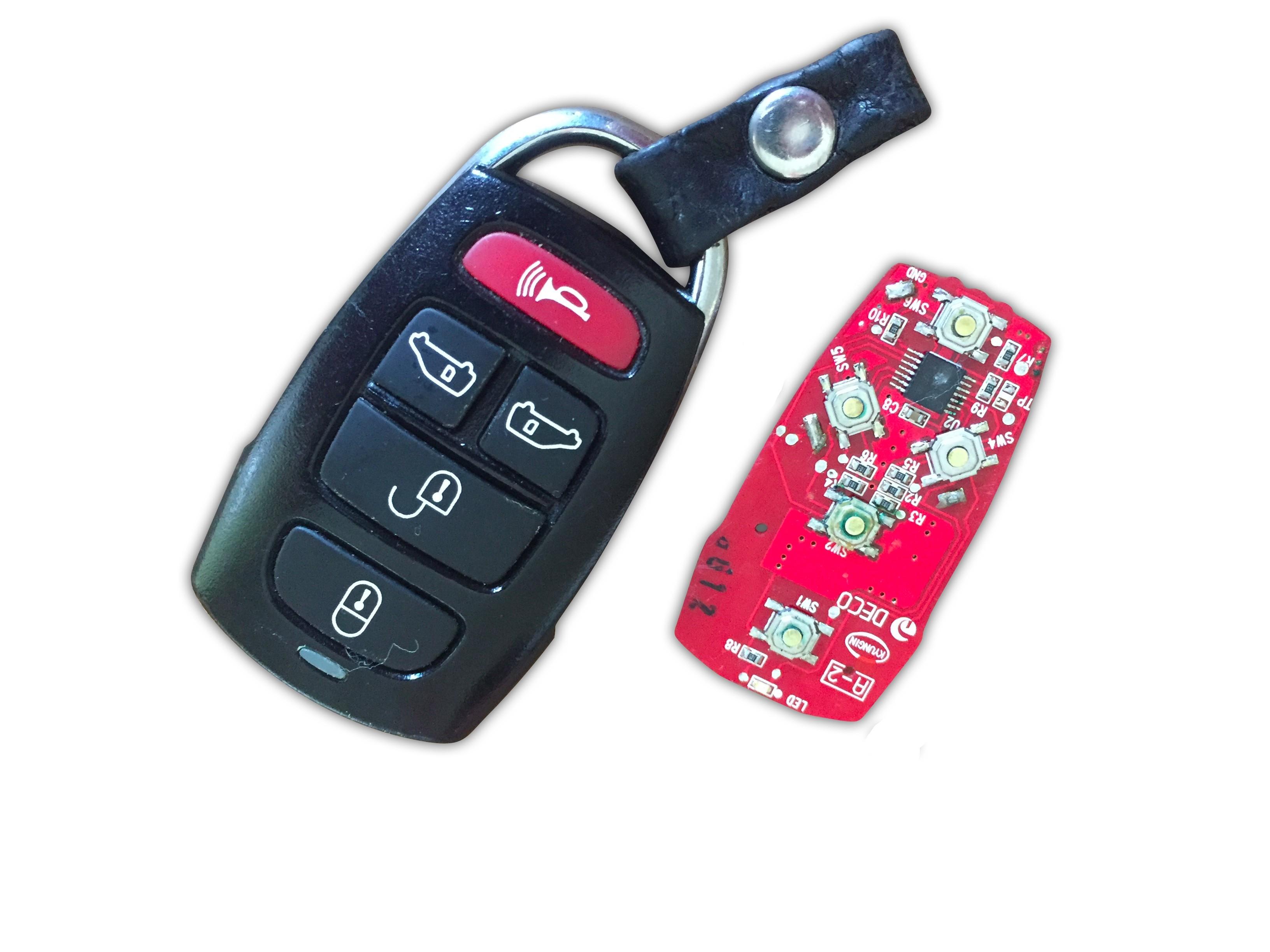 Repair Service for Kia Sedona 5 button remote key fob