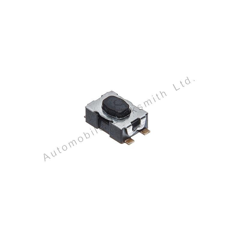 Set of 3 Tactile Micro Switches Dimensions; 4.1mm x 2.7mm x 1.4mm