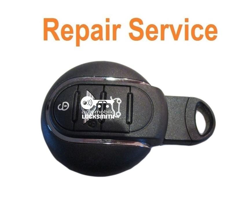 REPAIR SERVICE FIX for new Mini Cooper 3 button smart remote key fob