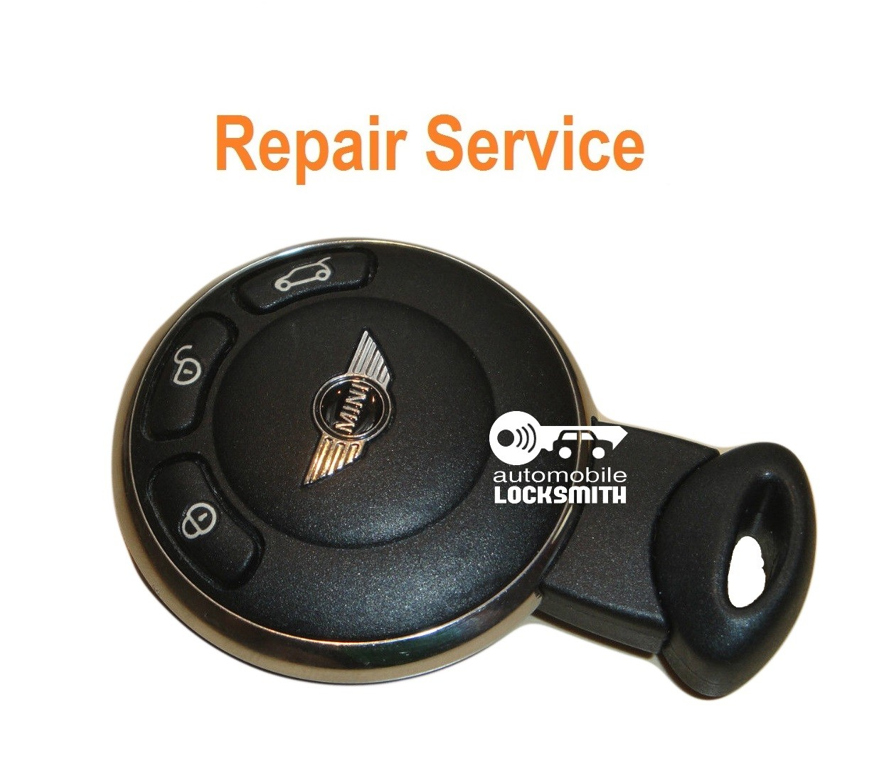 REPAIR SERVICE FIX for Mini Cooper 3 button smart remote key fob