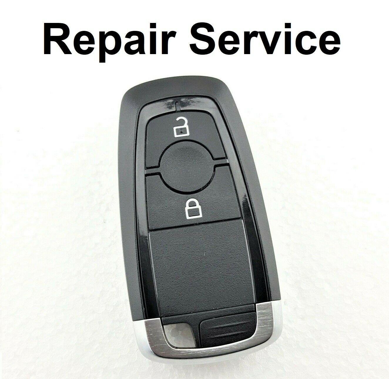 Repair Service for Ford Galaxy Kuga Mondeo Explorer Edge Fusion 2 Button Smart Remote Key