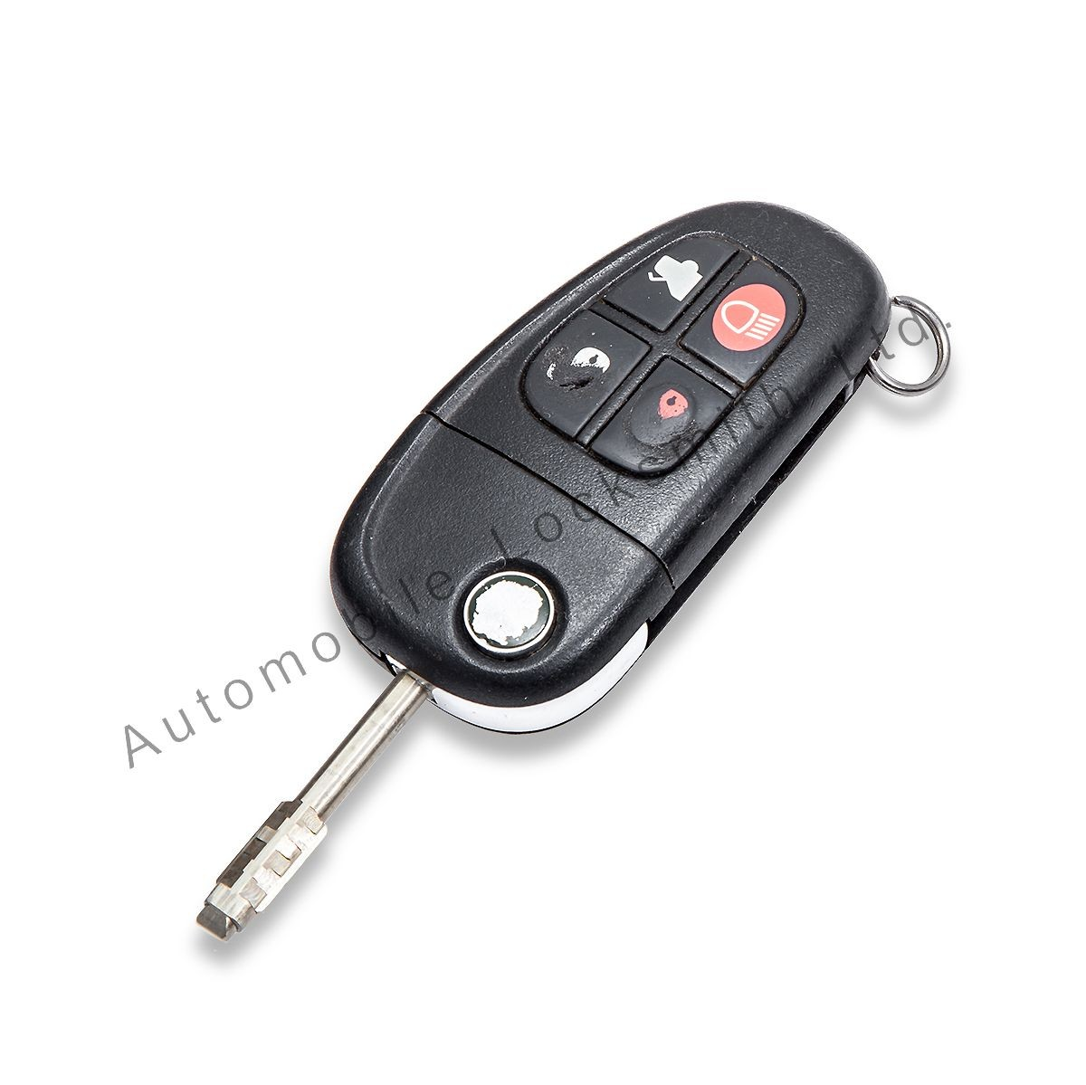 Repair Refurbishment Service for Jaguar X-Type S-Type XJ XJR 4 button remote key