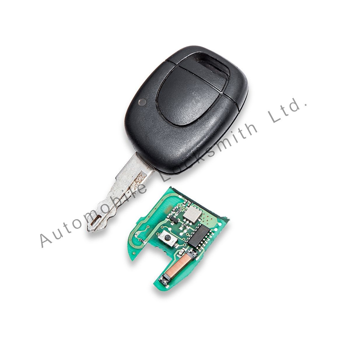 Repair service for Renault 1 button remote key