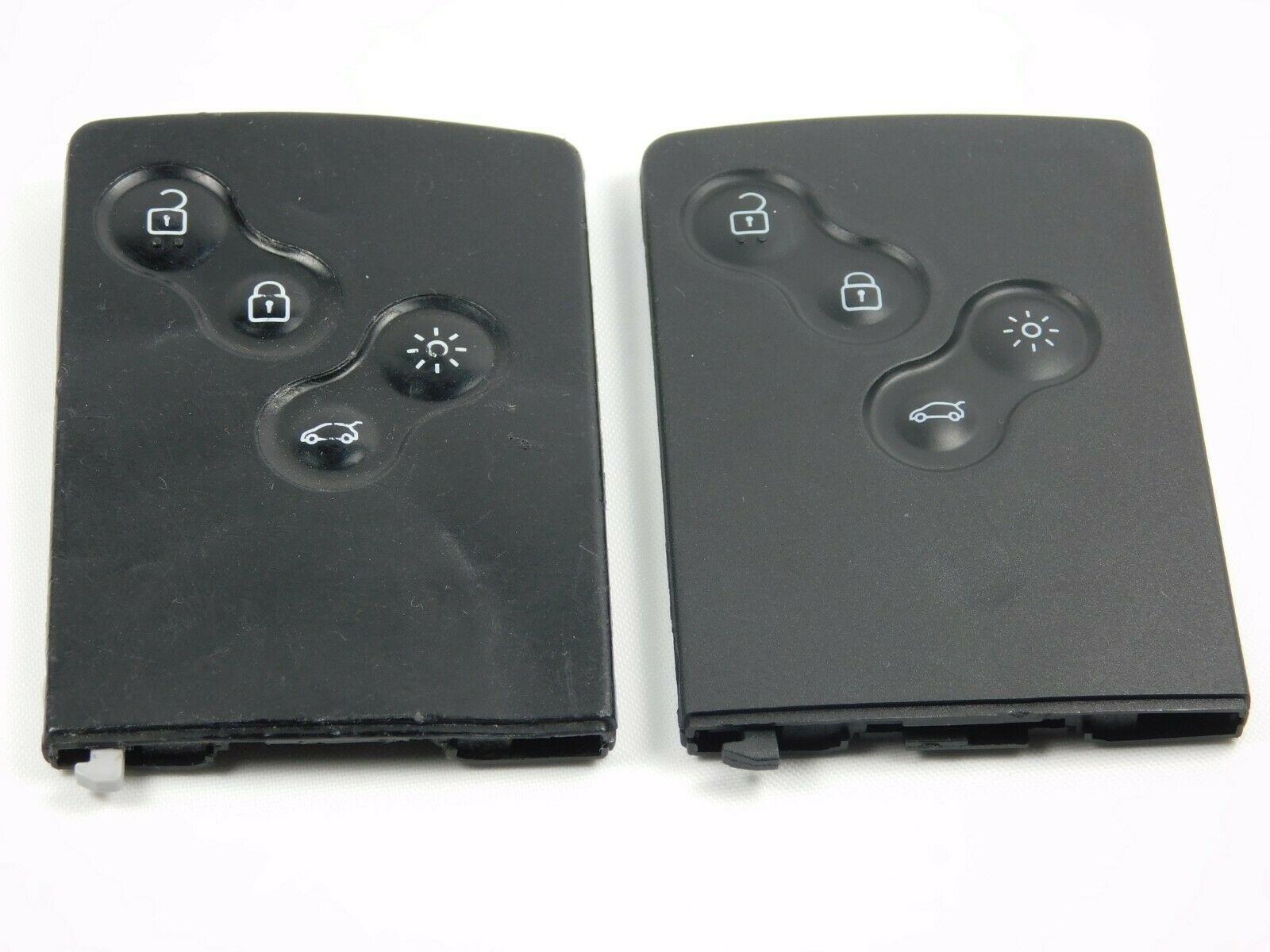 Repair Service for Renault Megane Laguna Clio Koleos 4 button key card