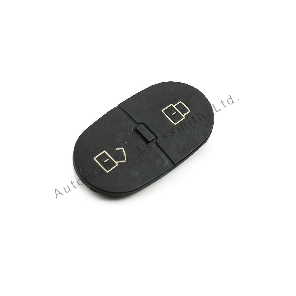 Rubber button pad for Audi 2 button remote flip key