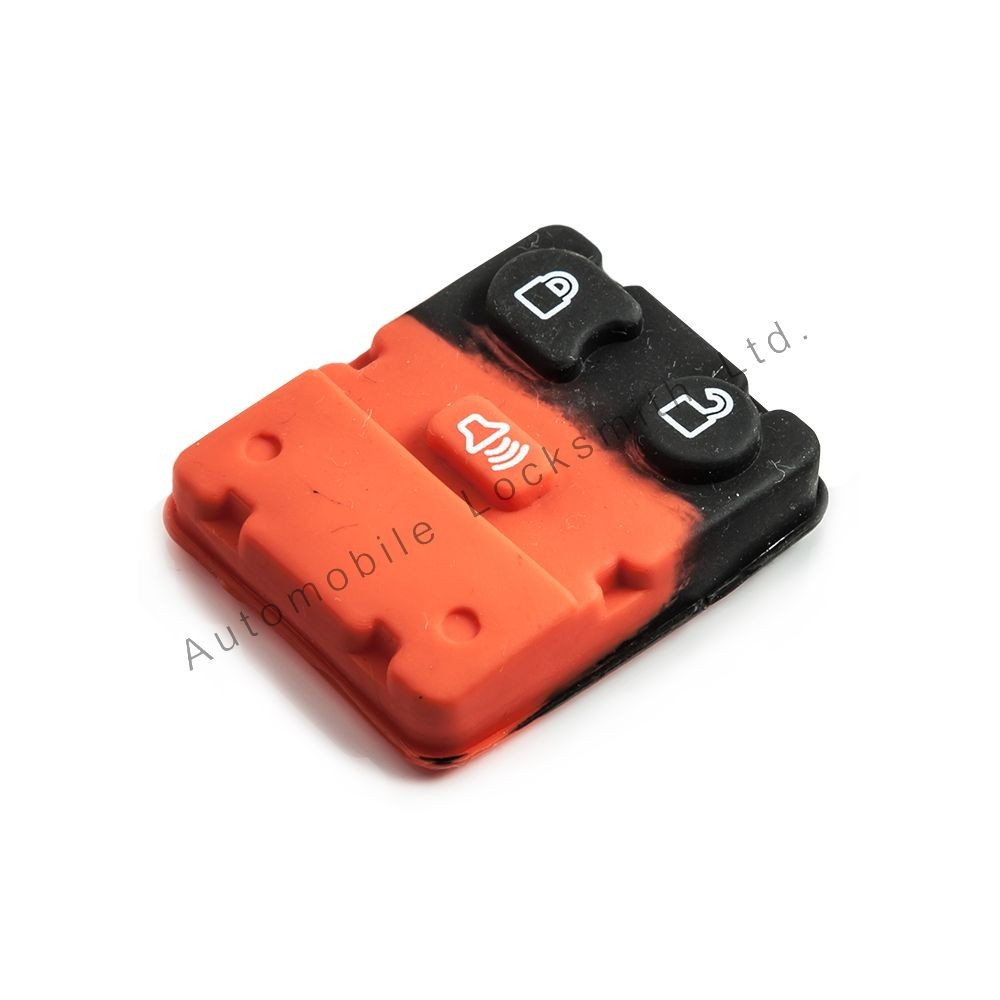 Rubber button pad for Ford 2/3 button remote alarm key