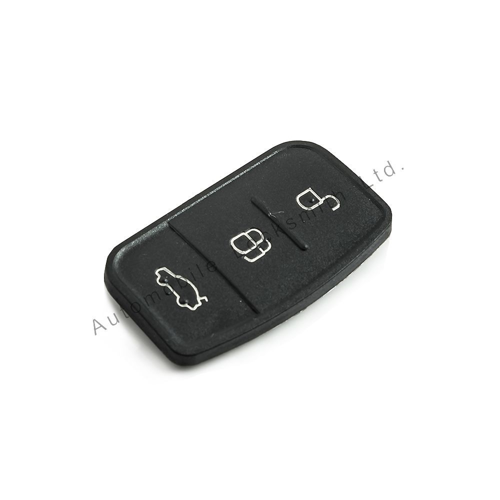 Rubber button pad for Ford 3 button flip remote key fits C-Max; S-Max Galaxy, Mondeo