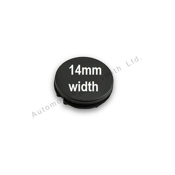 Rubber button pad for Citroen 1/2 button remote key