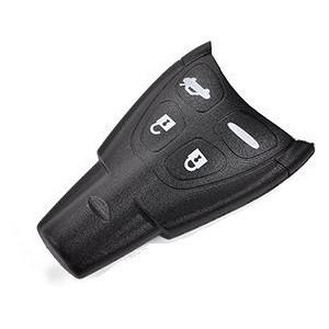for Saab 9-3 9-5 Aero 4 button smart remote key case shell