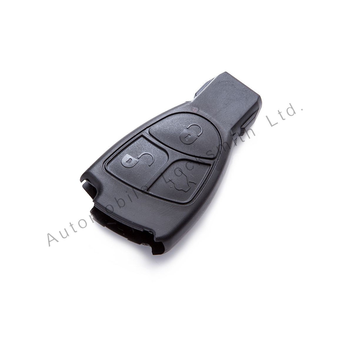 Smart key case shell for Mercedes Benz 3 button remote key