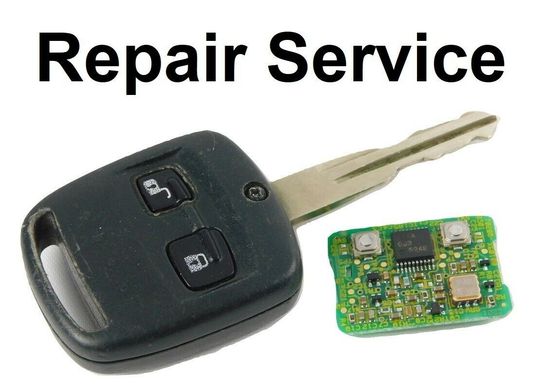 Repair Service for Subaru Outback Impreza Legacy WRX 2 Button Remote Key Fob