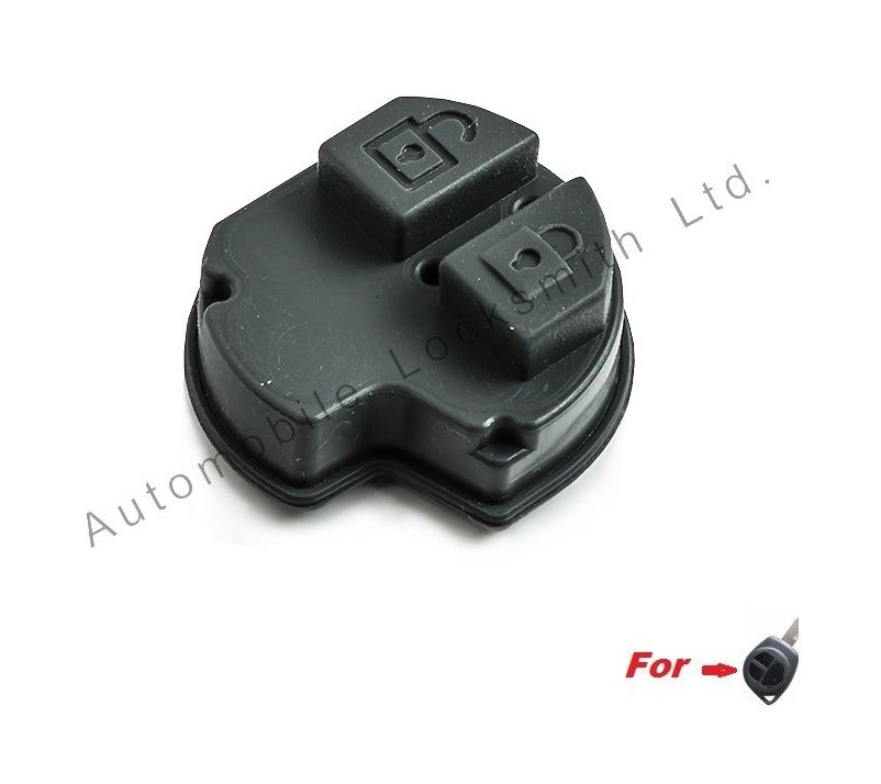 Rubber pad for Suzuki Grant VItara Alto Jimny Liana Swift Ignis SX4 Fiat Vauxhall 2 button remote key