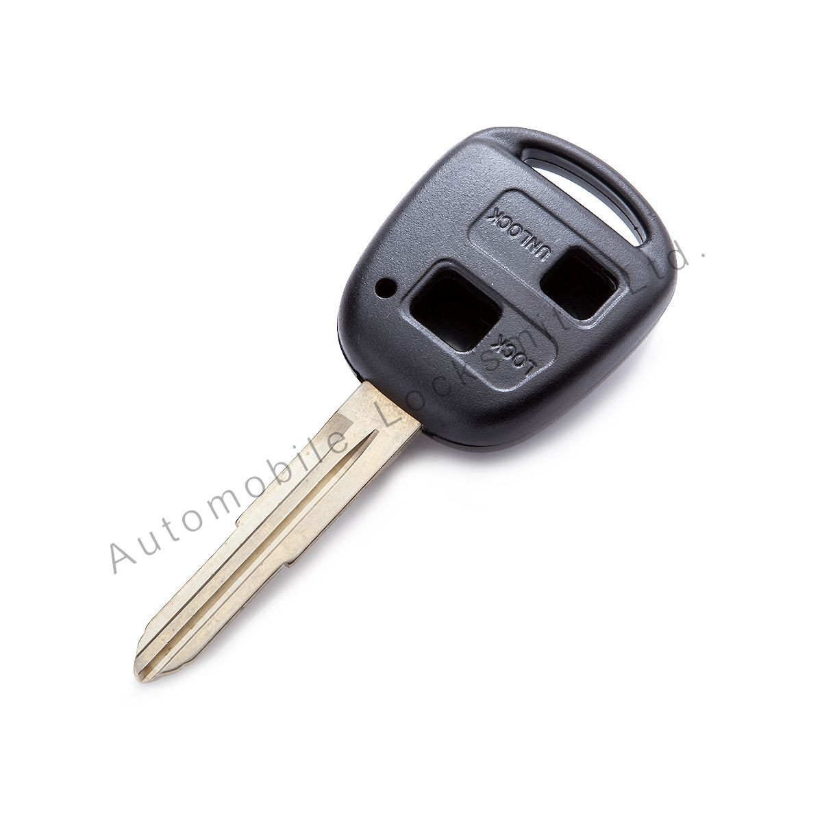 For Toyota Yaris 2 button remote key shell with TOY41 key blade 10-8mm