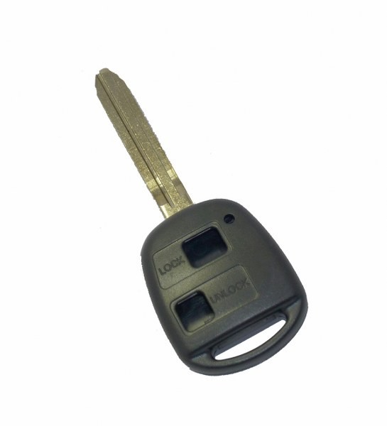 Blank Key Blade & Case 2 Button for Toyota Remote Toy43 8mm