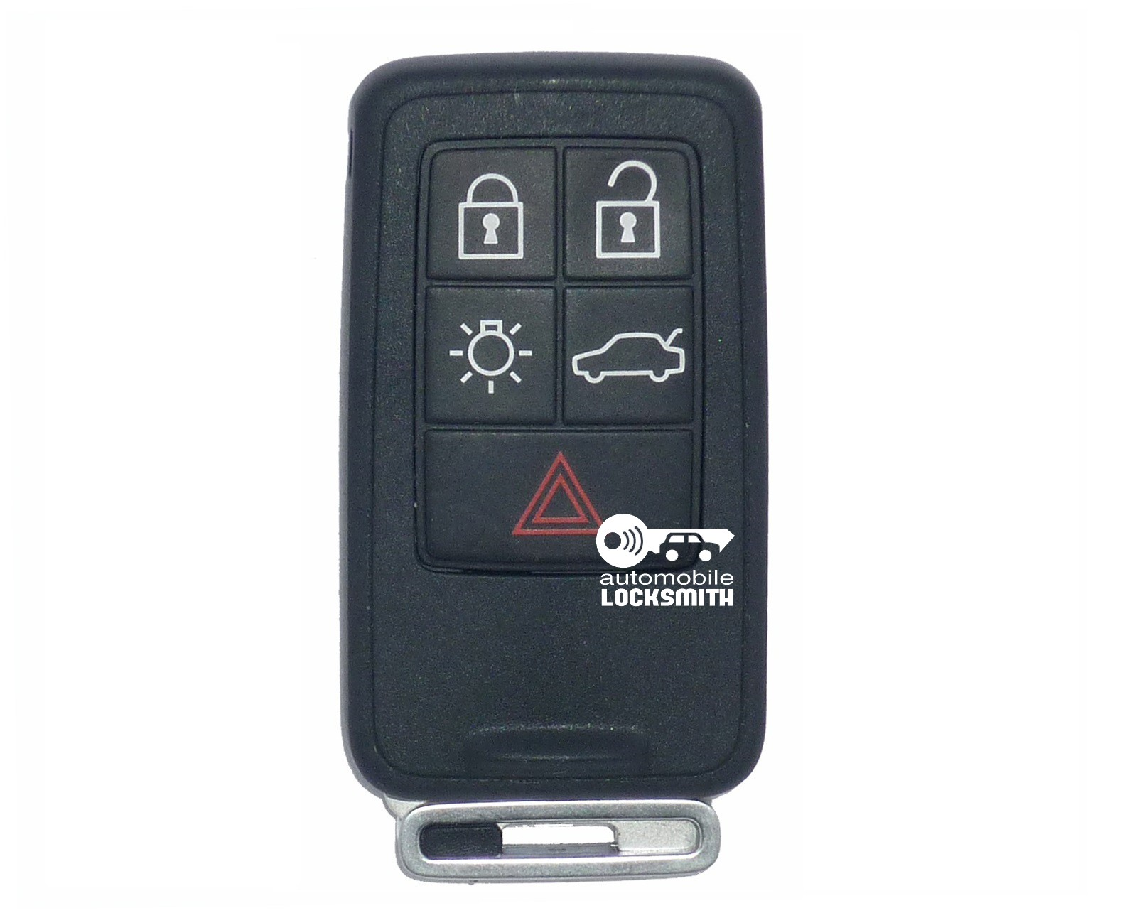 used Volvo S60 S80 XC70 XC90 5 button smart remote key fob part no; Siemens 31266627