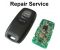 Repair Service for Mazda BT50 2 3 5 6 2 Button Remote Key Fob
