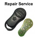 Repair service for Chrysler Jeep Dodge 2 button remote key fob