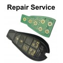 Repair Service for Chrysler Jeep Dodge 5 Button Smart Remote Key