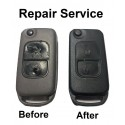 Repair Service for Chrysler 2 Button Remote Flip Key Fob