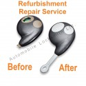 Repair Service for Cobra 2 button remote alarm key fob refurbishment fix
