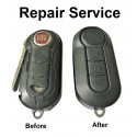 Repair Service for Fiat 500 Panda Punto Bravo Abarth 3 Button Remote Key
