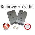 Repair Service for Renault 2 button remote smart key card