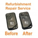 Repair service for Range Rover P38 2 button remote key