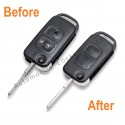 Repair service for Mercedes 2 button remote flip key