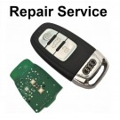 For AUDI A4 A5 A6 A7 A8 Q3 Q5 3 Button Smart Remote Key Repair Service