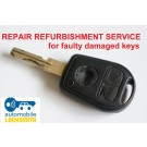 Repair service for BMW E46 E38 E39 Z3 3 button remote key