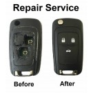 Repair Service for Chevrolet Chevrolet Cruze Orlando 3 button remote flip key