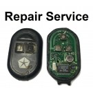 Repair Service for Chrysler 3 Button Remote Key Fob