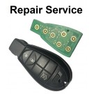 Repair Service for Chrysler Jeep Dodge 3 Button Smart Remote Key