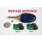 Repair Service for Fiat Bravo Panda Punto Scudo Multipla 1 button remote key