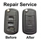 Repair service for Land Rover Discovery Range Rover Sport 3 button remote key