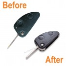 Repair Service for Alfa Romeo 147 156 166 GT 2 button remote flip key Refurbishment