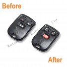 Repair service for Jaguar 3 button remote alarm key