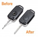 Repair service for Mercedes 1 button remote flip key