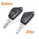 Repair Service for Peugeot 406 2 button remote key