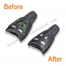Repair refurbishment service for Saab 93 95 Aero 4 button remote key